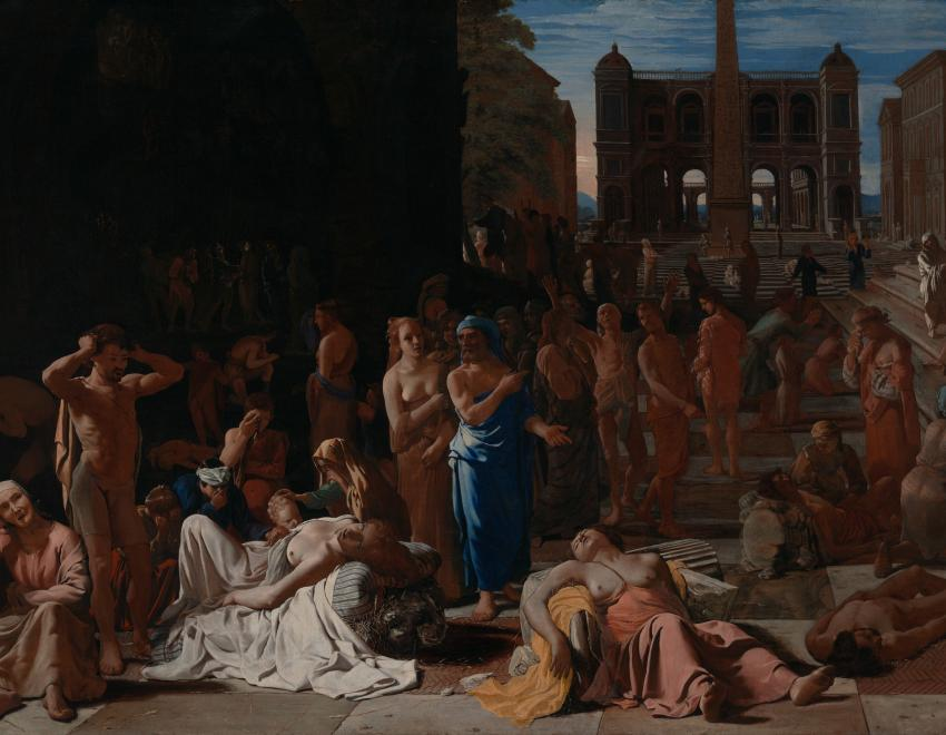 Painting Plague in an Ancient City by Michael Sweerts