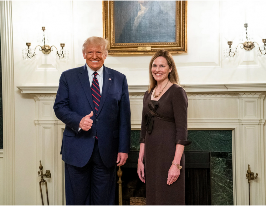 Trump & Amy Coney Barrett
